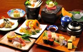欧洲日式料理壁纸下载