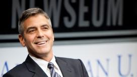 高清美国演员George Clooney-乔治・克鲁尼桌面壁纸下载
