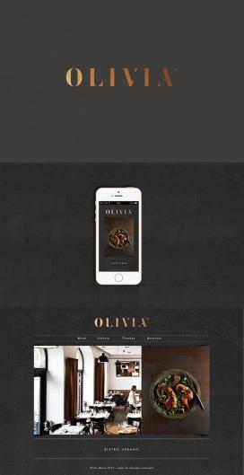 OLIVIA小酒馆品牌视觉设计