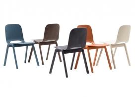 整洁的软木办公桌家居用品系列
