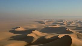 漂亮的埃及撒哈拉沙漠