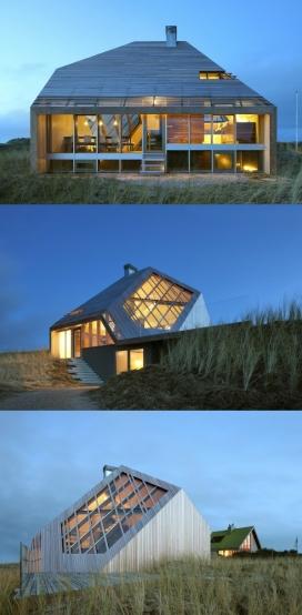 沙丘之家-是一个最低限度的房子,位于荷兰泰尔斯海灵岛,每个空间都有与周围景观独特的连接。