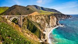 美国加州比克斯比河大桥