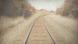 荒废的铁路
