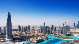 迪拜城市美景壁纸