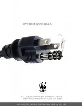 WWF世界自然基金会公益平面广告