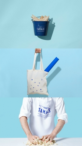加利福尼亚州Craft Tamale-餐厅品牌设计-专门从事玉米粉蒸肉,对墨西哥菜最有代表性的菜肴之一。