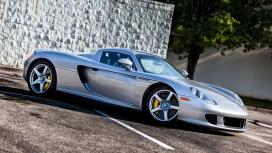 高清晰保时捷卡雷拉GT(Carrera GT)壁纸下载