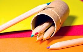 高清晰笔筒铅笔主题壁纸图集下载