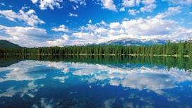 贾斯珀国家公园伊迪丝湖