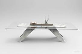 独特的现代几何流线型物品混凝土家具-法国设计工作室-拥有简约而现代的风格。该系列包括一张餐桌,烛台,镜子,柜子,抽屉,玄关桌,和基座。