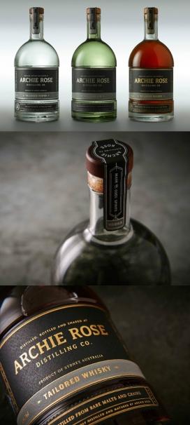 阿尔奇玫瑰蒸馏伏特加和威士忌杜松子酒-全力以赴的绿色光,让人产生了惊人的挫败感