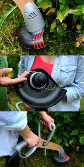 Elko-一个轻量级易于维护的杂草修剪机设计