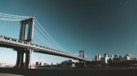 高清晰布鲁克林大桥壁纸
