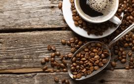 高清晰艺术咖啡豆饮料主题电脑壁纸下载