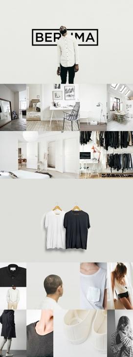 BERLIMA-概念时装店品牌设计欣赏-位于雅加达,提供了不同的购物体验。消费者将体验到一个独特和亲密的购物方式