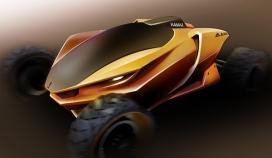 达喀尔拉力赛车设计