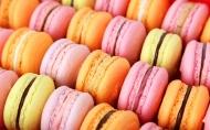 高清晰唯美五彩Macaron马卡龙甜品饼干桌面壁纸下载