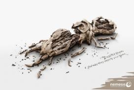 复仇者-摧毁他们等于摧毁你回家的路-Nemesis平面广告