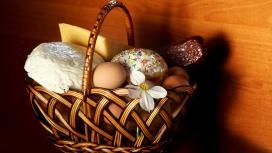 复活节篮子的东西