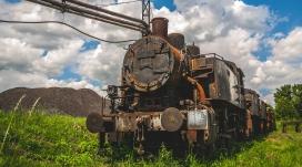 高清晰复古蒸汽火车壁纸