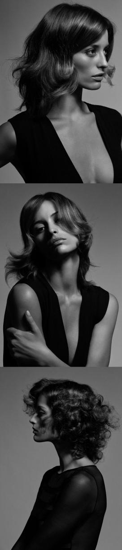 Vogue巴西-时尚美诱的黑白肖像