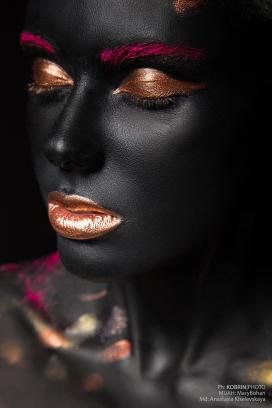 Black skin-金粉黑美人