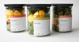 挑战自然的非自然想法-GMO防腐烂水果罐头包装设计-设计灵感来自于药品包装标签
