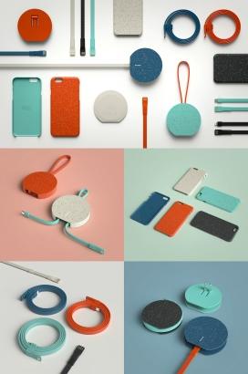 Andrew Walla-USB移动配件品设计-一系列独特的标志性解决方案