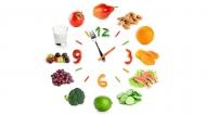 可爱漂亮的蔬菜水果时钟拼图造型