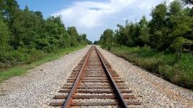 高清晰大铁路壁纸