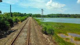 通往绿田的铁路
