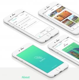 DAMDA - Bucketlist相簿服务-手机交互网页设计