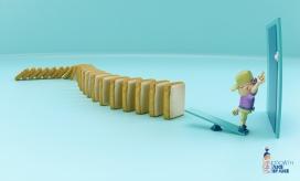 Bimbo饼干食品平面广告