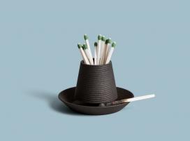 黑色3D印刷的坚固炉灶
