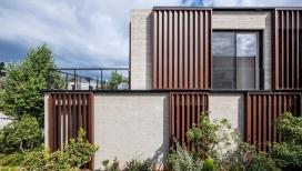 特拉维夫箱型百叶遮阳窗混凝土房屋