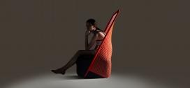 Cradle-编制的摇篮椅子