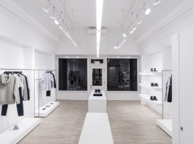 奥马尔甘地建筑师为英国时装设计师克里斯托弗・凯恩(Christopher Kane)创造的最小时尚时装商店