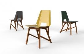 特殊创新皮革的巴西家具组合设计欣赏