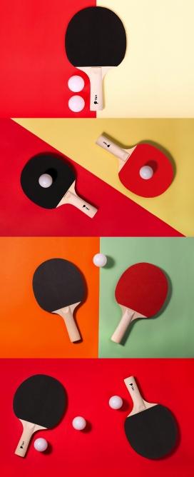 T&H ping pong rackets-乒乓球拍品牌设计