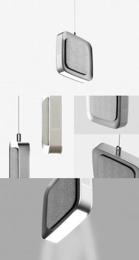CEILI.AIR-质感的吸式空气净化器