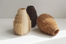 """被植入头发""""污染""""的花瓶-每一个都是限量版,值得收藏"""