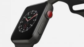 内置蜂窝服务用于远程接收呼叫的Apple Watch 3腕表设计