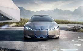 高清晰宝马I视觉概念电动汽车壁纸