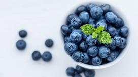 高清晰蓝莓水果写真壁纸