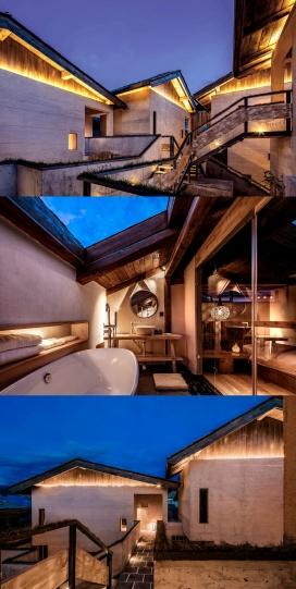 1200 平方米香格里拉言・意酒店