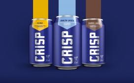 大胆清爽的芬兰Koff啤酒-一个大胆的包装设计,毫不掩饰地传达产品不含酒精,传达清爽的真实性,同时也体现了品牌的精神本质