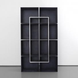 绿锈铝创建此集家具板材-具有质地类似画笔笔触,苍白和黑暗的色调
