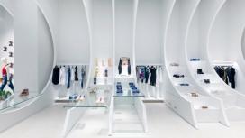 迈阿密几何框架时装店