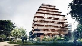 挪威铜塔层-一个线性的塔